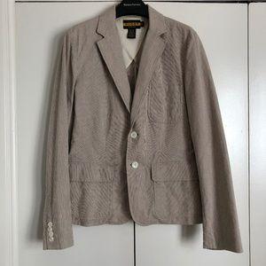 RALPH LAUREN Rugby Khaki Pincord Jacket Sz 10 NWOT